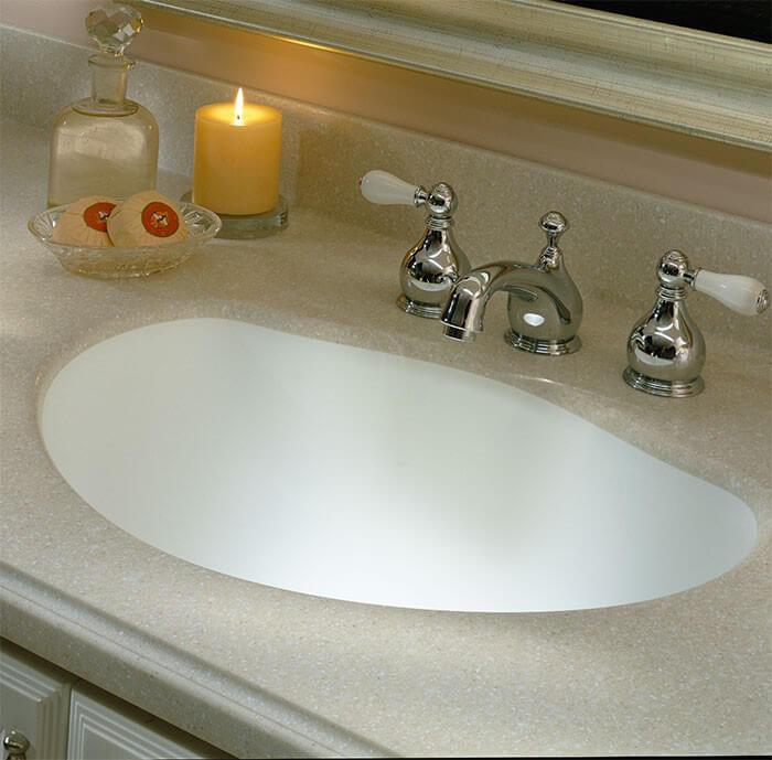 Svannah Corian Sheet Material · Savannah Corian Bathroom Vanity