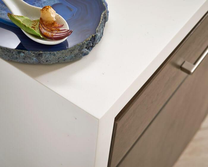 Bon White Jasmine Corian Sheet Material · White Jasmine Corian Countertop Edge  Profile ...