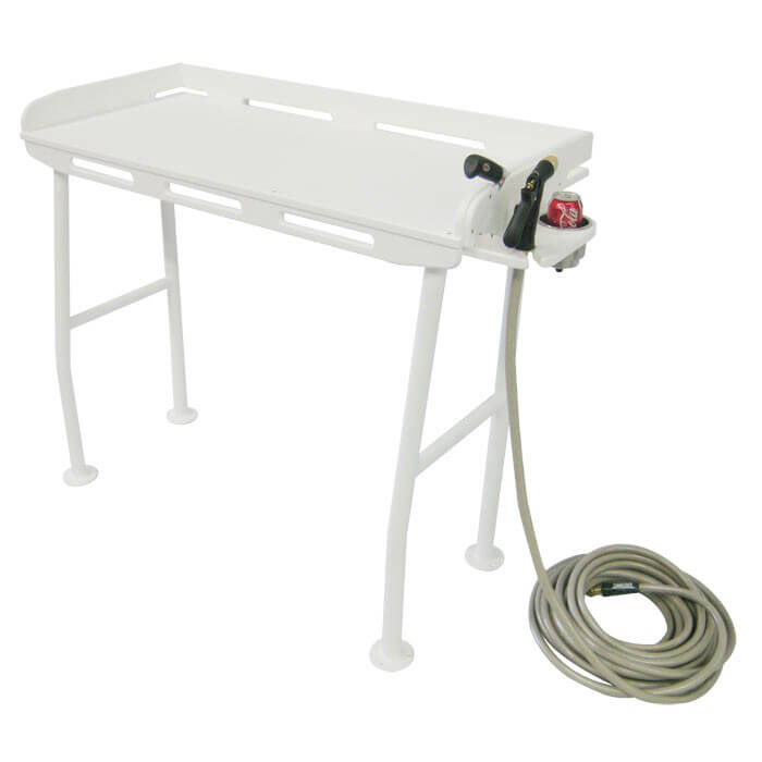 Dock fillet table 40 x 21 boat outfitters for Fish cleaning tables