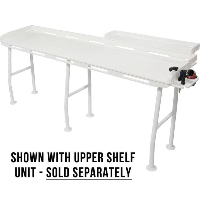 Extra large fish cleaning station 96 x 21 boat outfitters for Fish cleaning tables