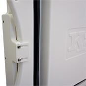 K2 Cooler Top Cutting Board Open