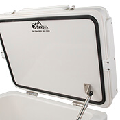 Dakota Cooler Top Cutting Board Opened Zoom