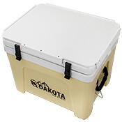 Dakota Cooler Top Cutting Board Closed
