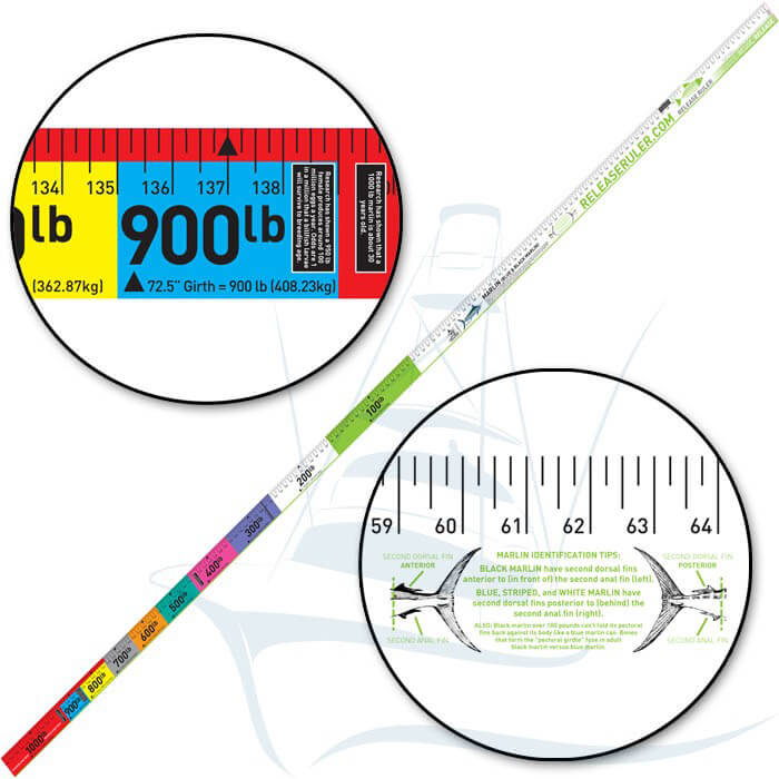 Marlin Release Ruler Boat Outfitters