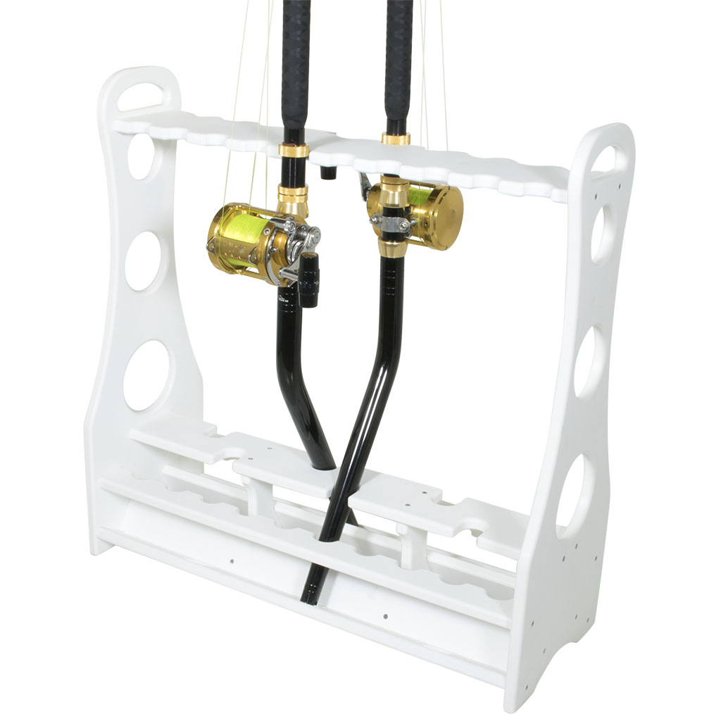 Bent butt rod rack for Fishing rod accessories