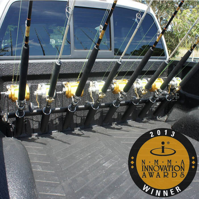 pick up truck rod holder boat outfitters