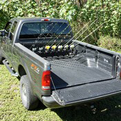 Pick Up Truck Rod Holder - F250 & F350