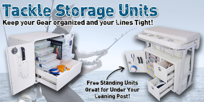 Tackle Storage Units