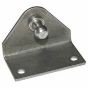 "Stainless Steel Reverse Angled Mounting Bracket 2"" x 1"""