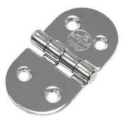 "Stainless Steel Butt Hinge 3"" x 1.5"""