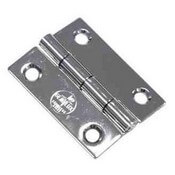 "Stainless Steel Butt Hinge 1.625"" x 2"""