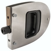 Stainless Steel Oval Locking Cabin Door Latch