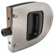 Stainless Steel Oval Locking Cabin Door Latch