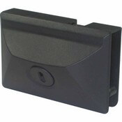 "Secure Entry Door Lock Black 2.17"" Tall x 3.43"" Wide"