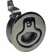 "Stainless Steel Compression Latch 2.5"" Diameter Non-Locking"