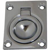 Flush Ring Pull - Rectangular