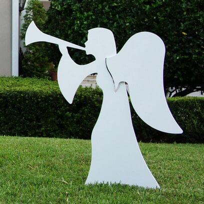 Nativity Angel 2 Piece Set - Large
