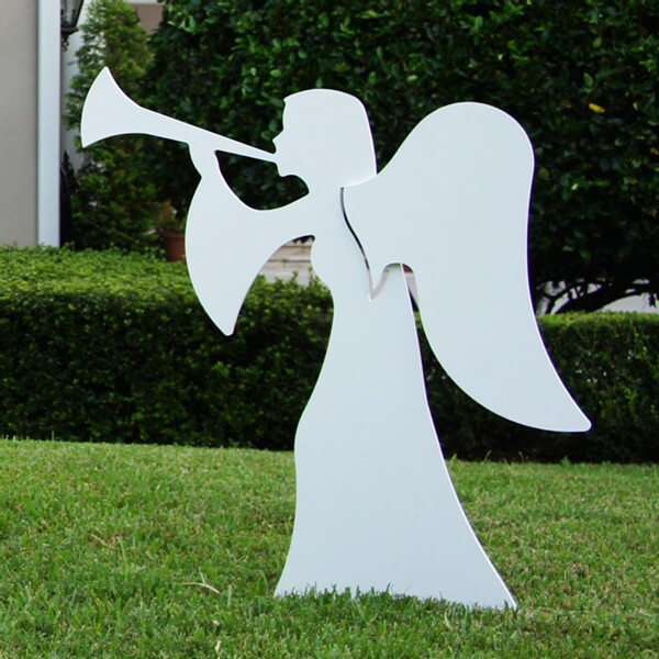 Large Two Piece Nativity Angel Figures