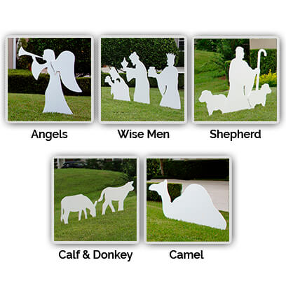 Nativity Figures Full Add-On Set Large