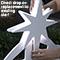 Lit Nativity Star Install Demonstration