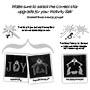 Lit Nativity Star - 202632-30060