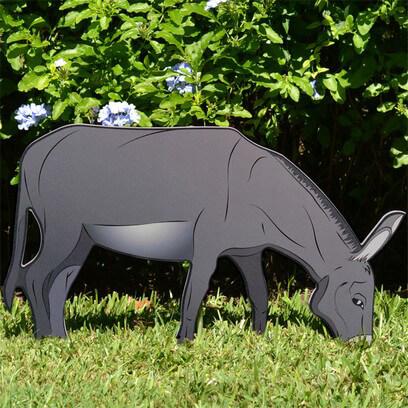 Printed Donkey Nativity Figure
