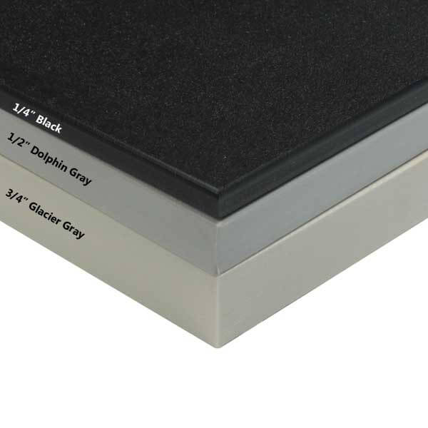 King Plastic Cut To Size Black King Starboard Plastic