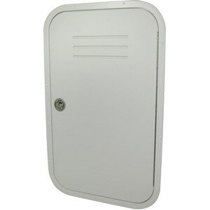 Aluminum Framed Console Door