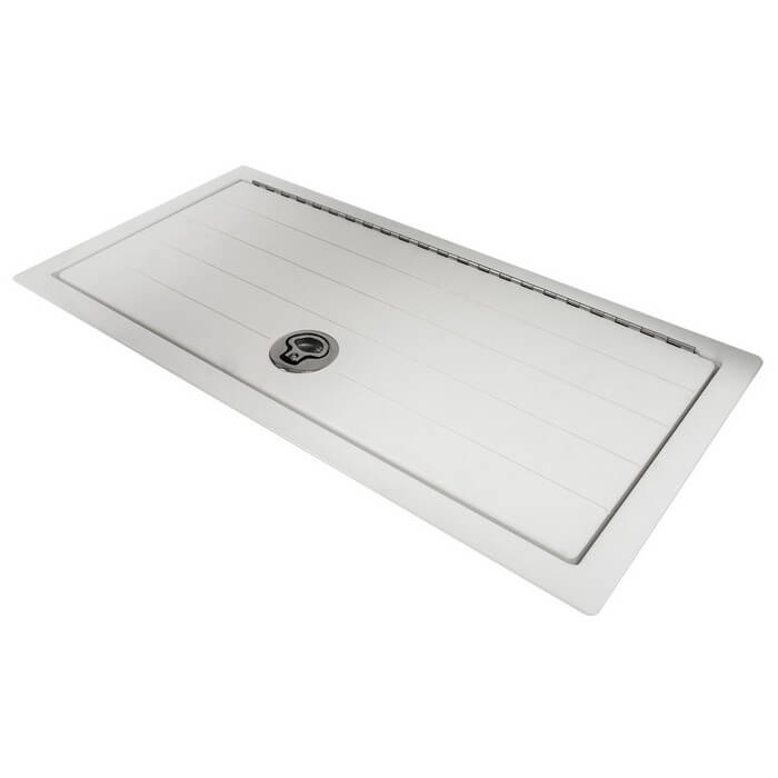 Boat Hatch Replacement Parts : Starboard deck hatch with square corners