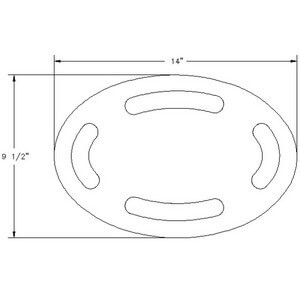 Sea Ray Swim Platform Insert - Drawing