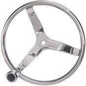 3 Spoke Stainless Steel Steering Wheel