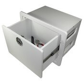 Single Deep Drawer Unit - Open