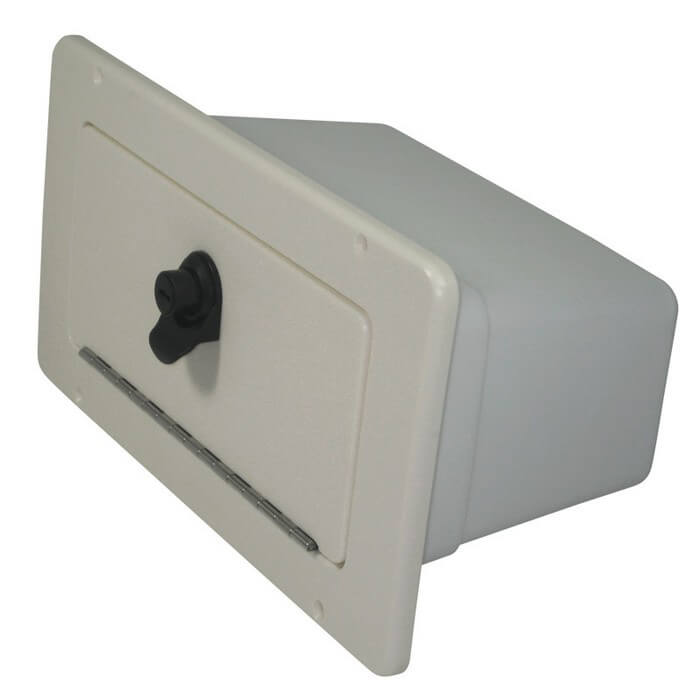 Teak Isle Glove Box With Bin 13770 50281