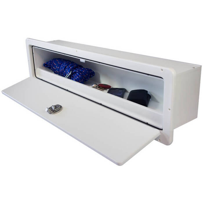 Custom boat glove box boat glove boxes for Boat mailbox