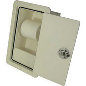 "Toilet Paper Holder 10.25"" x 16"" - Open"