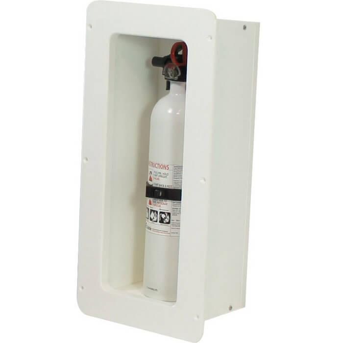 Teak Isle Fire Extinguisher Storage Box 13770 52171