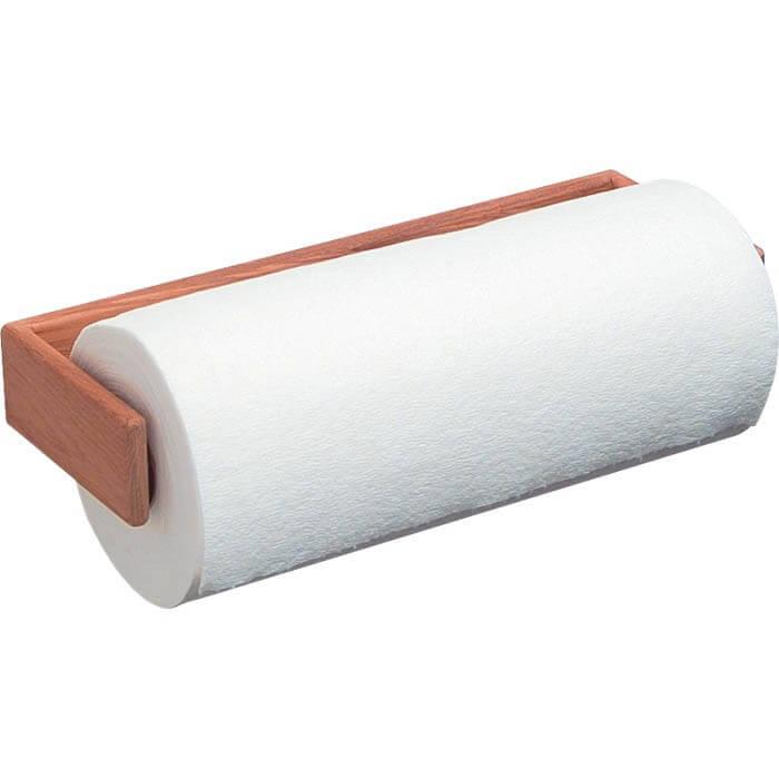 whitecap teak wall mount paper towel holder 62442. Black Bedroom Furniture Sets. Home Design Ideas