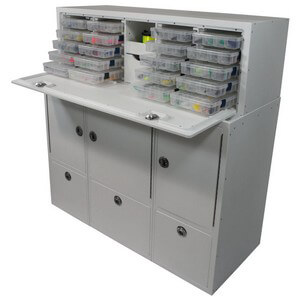 Tackle Storage Station 20 Tray 12 Drawer Boat Outfitters