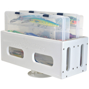 Tackle Box with SeaSucker Vacuum Mount - Horizontal Mount