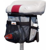 Pedestal Seat Storage Bag - Installed