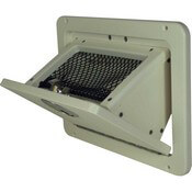 Tilt out Glove Box with Retainer Net - Open