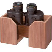 Teak Teak Binocular Rack