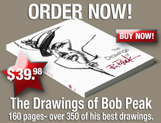 Buy The Drawings of Bob Peak Book