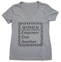 Women Empower_VNK_GRY-Black Text by Bodies Inclusive