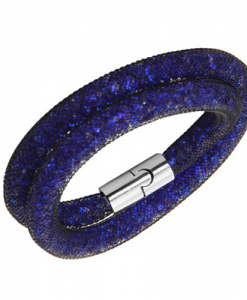 zapestnica glamur modra