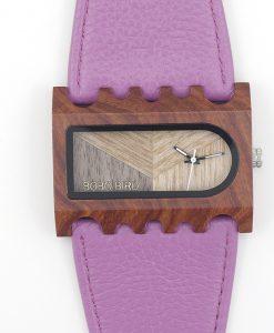 Lesena ura Wood Violet
