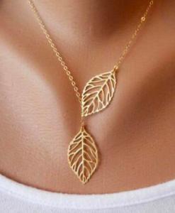 Ogrlica leaf