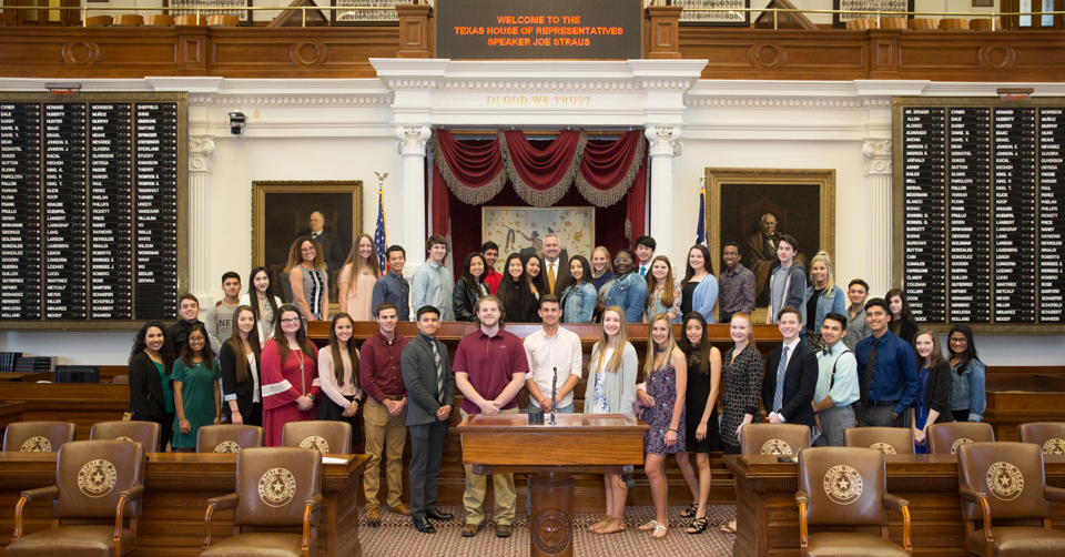 CFISD Students in the Texas House