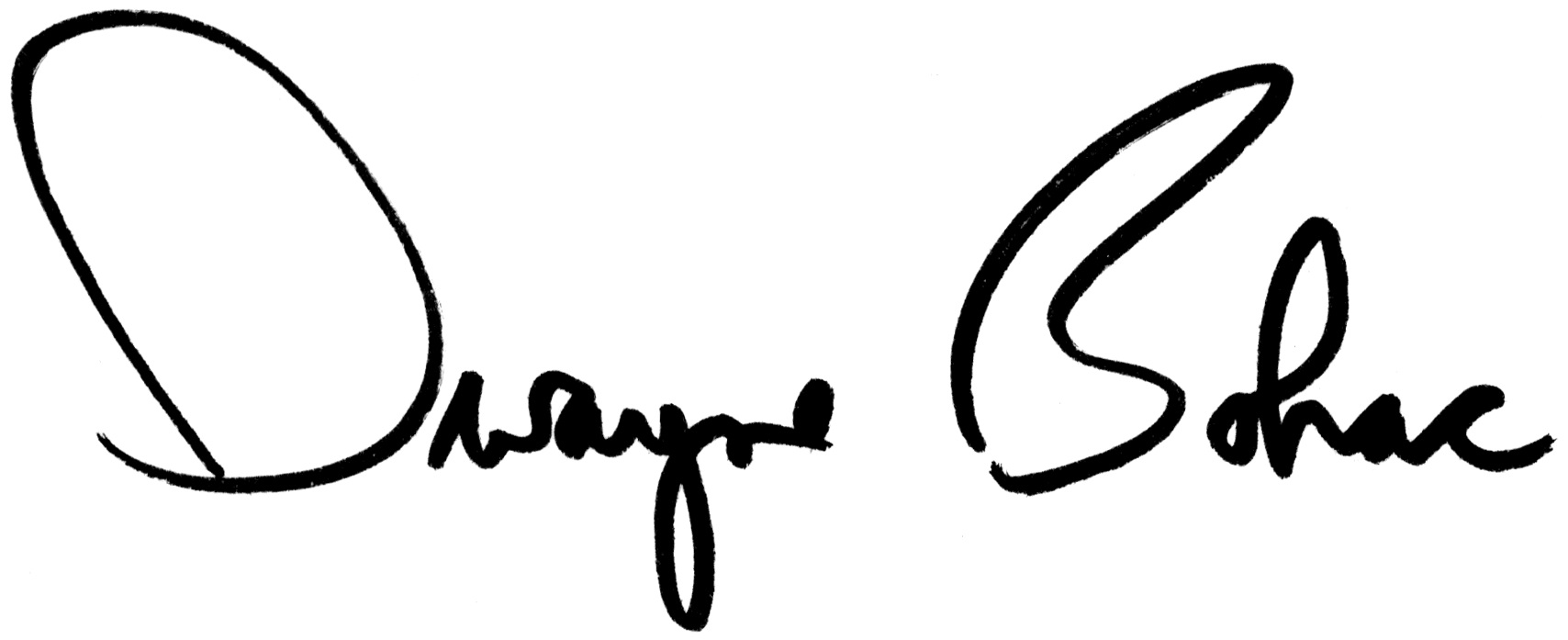 Dwayne Bohac Signature