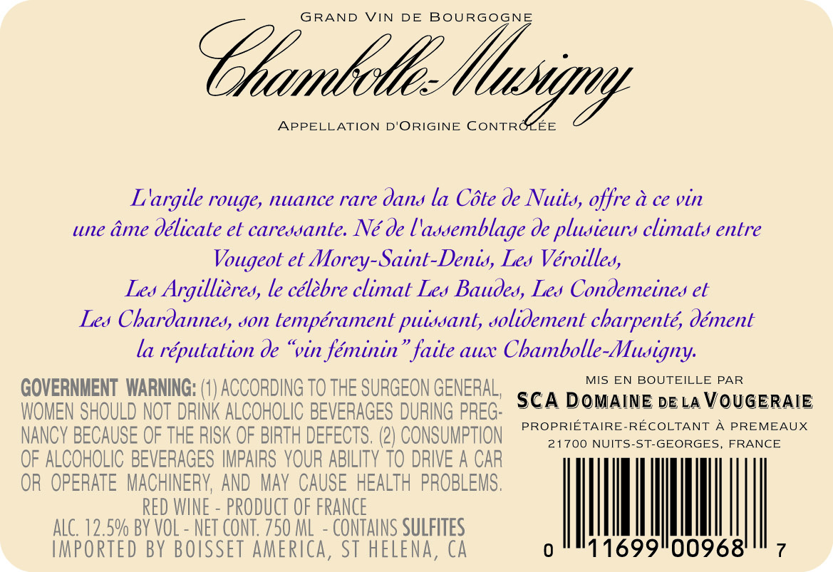 chambolle musigny senior personals Domaine mongeard-mugneret, chambolle-musigny 2014 the wines of chambolle are first and foremost producer based in vosne-romanée with a history dating.
